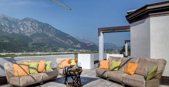 Best Western Hotel Adige - Trente - Balcon