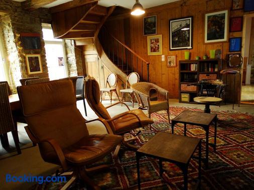 Le Relais - Saint-Sauveur-la-Pommeraye - Living room