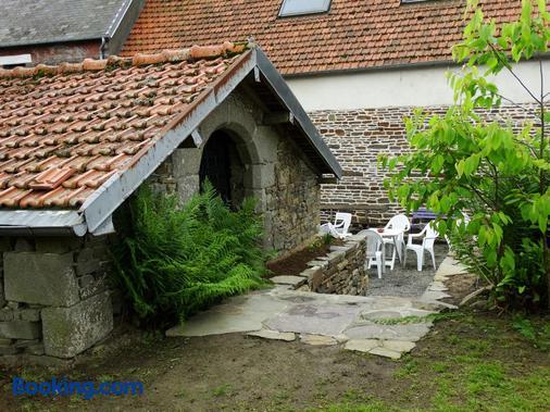Le Relais - Saint-Sauveur-la-Pommeraye - Patio