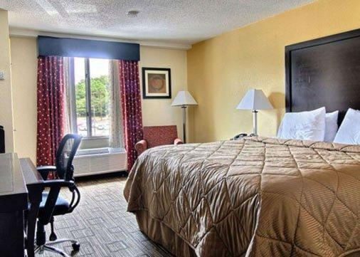 Quality Inn & Suites - Greenville - Bedroom