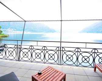 Lac Hotel - Melide - Balkon