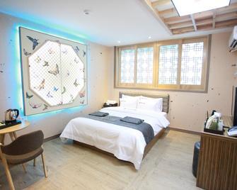 Jeonju Hanok Hotel Kung - Jeonju - Schlafzimmer