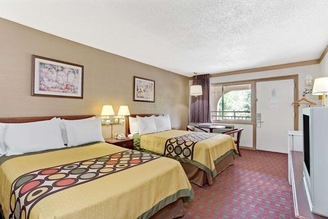 Super 8 by Wyndham Williamsburg/Historic Area - Williamsburg - Bedroom