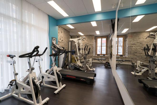 Hotel Port Royal - Quebec - Fitnessbereich