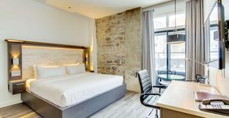 Hotel Port Royal - קוויבק סיטי - חדר שינה