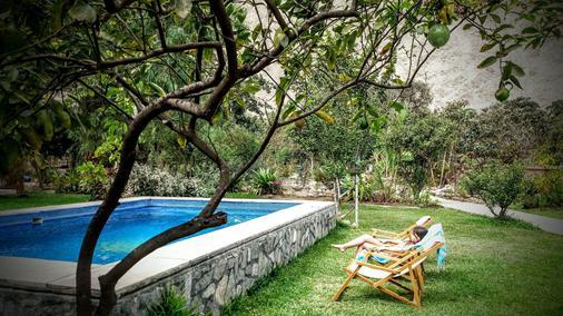 Refugio de Santiago Ecolodge - Lunahuaná - Piscine