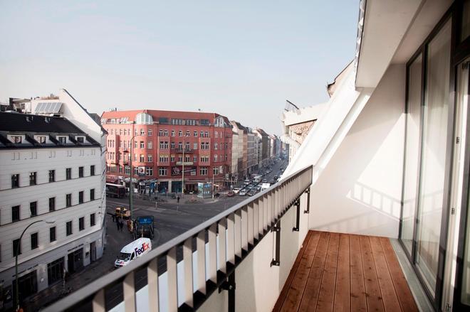 羅森塔爾住宅公寓酒店 - 柏林 - 柏林 - 陽台
