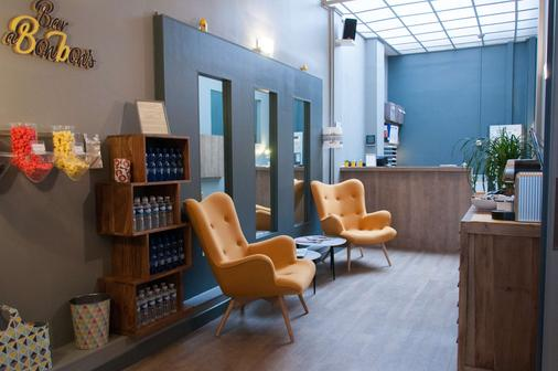 Cœur de City Hotel Nancy Stanislas by HappyCulture - Nancy - Front desk