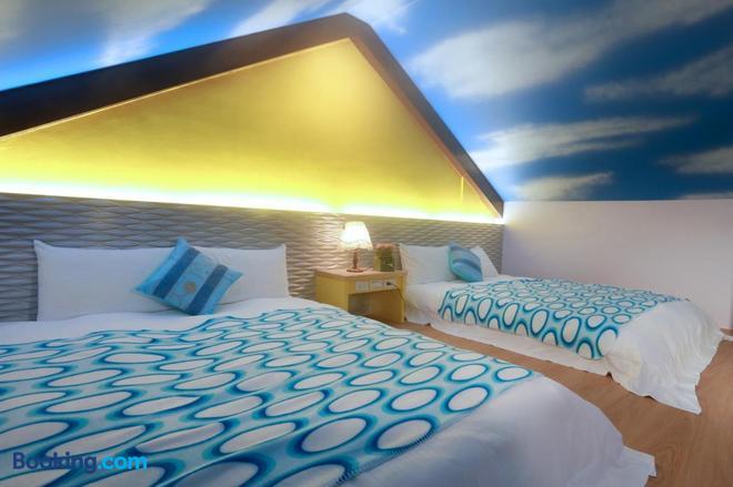 Zhen Shan Zhuang B&B - Yuanshan - Bedroom