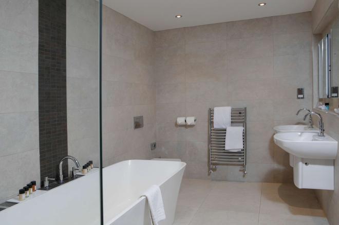 貝斯特韋斯特普雷斯頓加斯唐鄉村飯店及高爾夫俱樂部 - 普雷斯頓 - 浴室