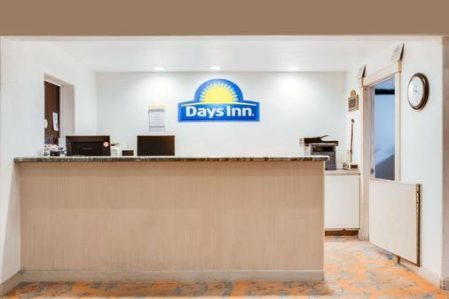 Days Inn by Wyndham Fort Stockton - Fort Stockton - Front desk