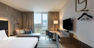 Hyatt Place Frankfurt Airport - פרנקפורט אם מיין - חדר שינה