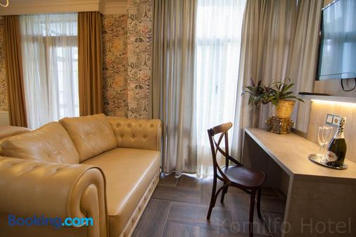 Komilfo Hotel - Chisinau - Living room