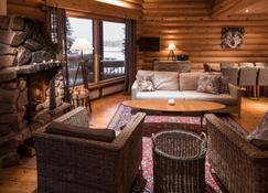 Lapland Hotels Ounasvaara Chalets - Rovaniemi - Living room
