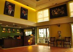 Chour Palace Hotel - Mae Sai - Front desk