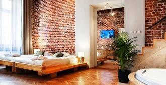 老城公寓酒店 - 克拉科夫 - 克拉科夫 - 臥室