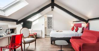 Courcelles Médéric - פריז - חדר שינה