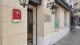 Courcelles Médéric - Paris - Bygning