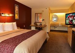 Red Roof Inn Cleveland - Airport/Middleburg Height - Middleburg Heights - Bedroom