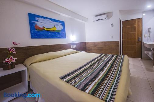Hotel Corais De Tambaú - João Pessoa - Bedroom