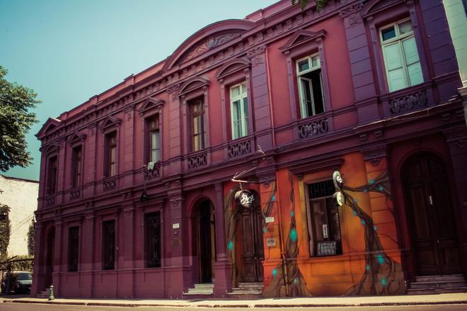 La Casa Roja - Santiago - Rakennus
