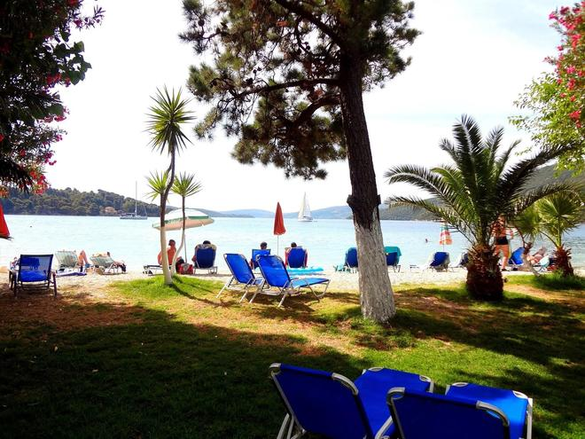 Avra Beach Hotel - Лефкада - Патио