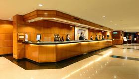 The Kimberley Hotel - Hong Kong - Front desk