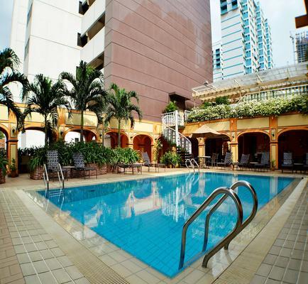 ホテル グランド パシフィック - シンガポール - プール