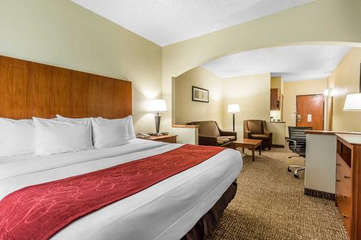 Comfort Suites North Dallas - Dallas - Bedroom