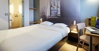 B&B Hotel Cherbourg - שרבור-אוקטביל - חדר שינה