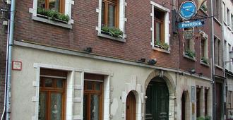 Hotel Postiljon - Antwerpen - Byggnad