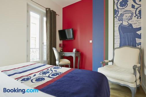 Hotel Saint-Sernin - Toulouse - Phòng ngủ