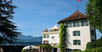 Jagd-Schloss - Swiss-Chalet Merlischachen - Lucerna - Edificio