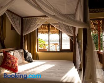 The Island - Pongwe Lodge - Adults Only - Pongwe - Schlafzimmer