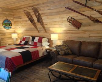 Glacier View Rv Park And Cabins - Smithers - Slaapkamer