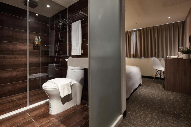 丰居旅店 雙連館 - 台北 - 浴室
