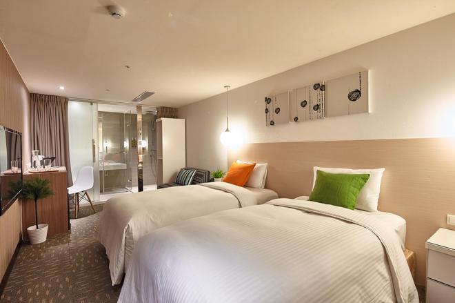 丰居旅店 雙連館 - 台北 - 臥室