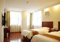 Greentree Inn Haerbin Railyway Station Express Hotel - Harbin - Makuuhuone