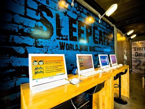 Sleep Cafe Hostel - Pattaya - Business Center