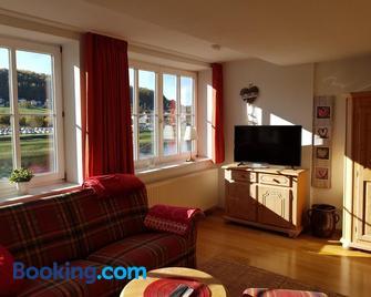 Villa Belvedere ( Haus Elbblick ) - Rathen - Living room