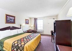 Super 8 by Wyndham Clarksville East - Clarksville - Schlafzimmer