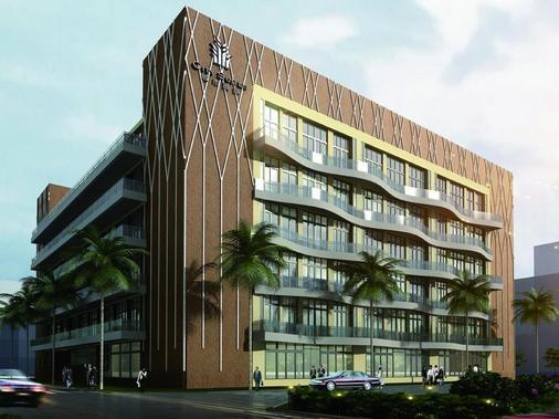City Suites - Kaohsiung Chenai - Kaohsiung - Κτίριο