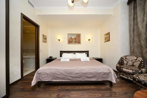 Hotel Angelina - Moskau - Schlafzimmer