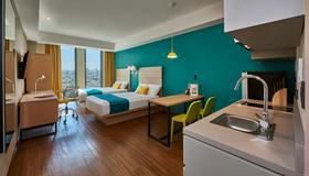 City Suites Tijuana Río - Tijuana - Bedroom