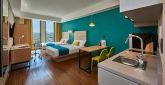 City Express Suites Tijuana Rio - Tijuana - Bedroom