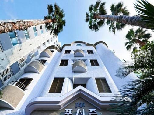 Jeju Fourseasons Hotel - Jeju City - Rakennus