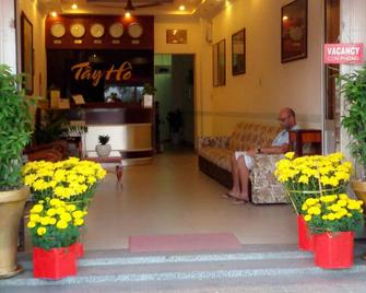 Tay Ho Hotel - Cần Thơ - Front desk
