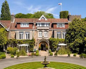 Longueville Manor - Saint Saviour - Gebouw