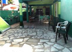 Casa Mar Verde - Playa Santa Lucía - Patio