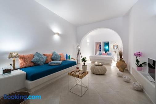 Kima Villas Suites - Oia - Phòng khách